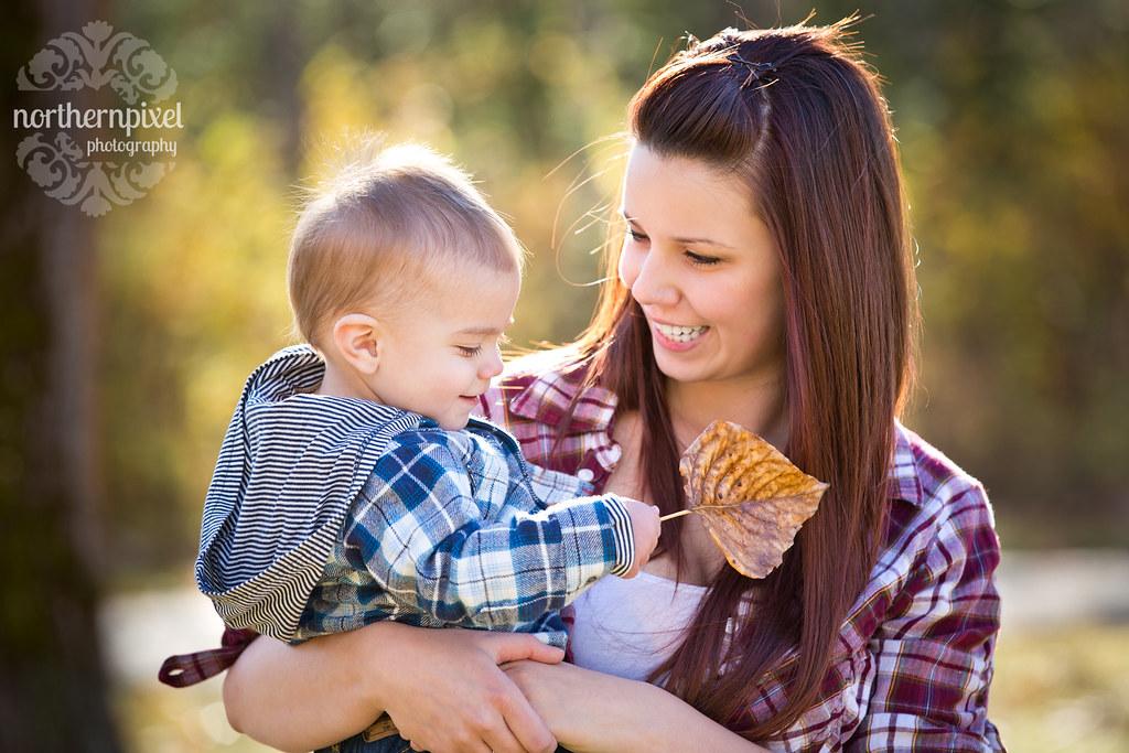 Mother & Son Leaf