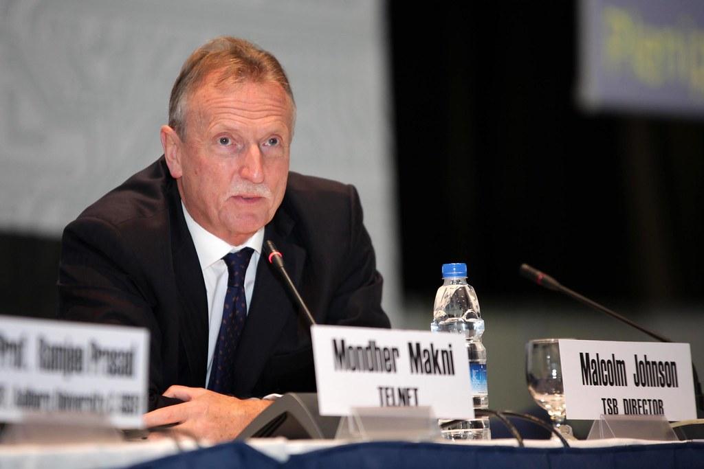 Malcolm Johnson, Director, ITU Telecommunication Standardization Bureau