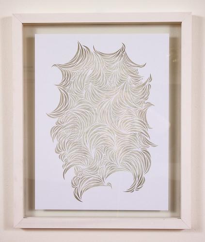 White Paper Cut Series