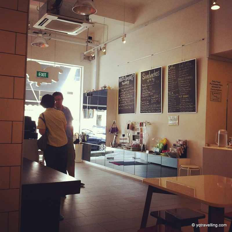 Interior of Drips Cafe