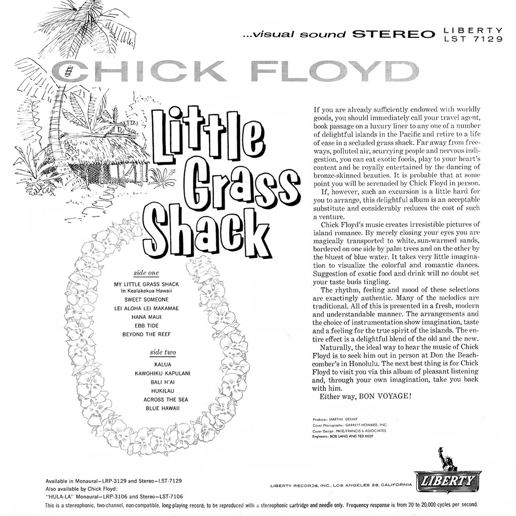 Chick Floyd - Little Grass Shack