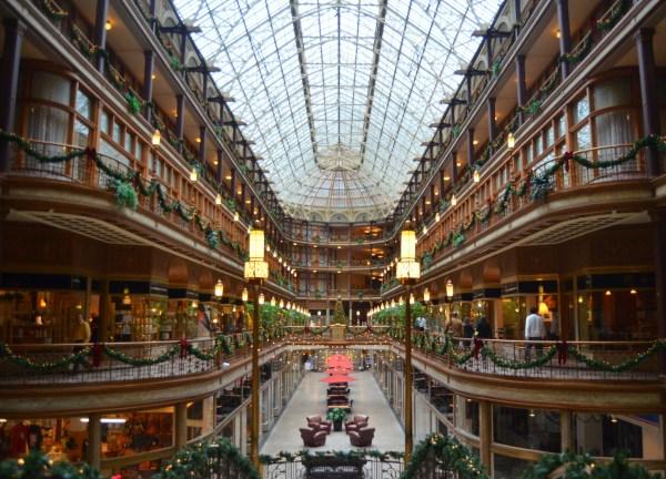 Cleveland Arcade - Sharing