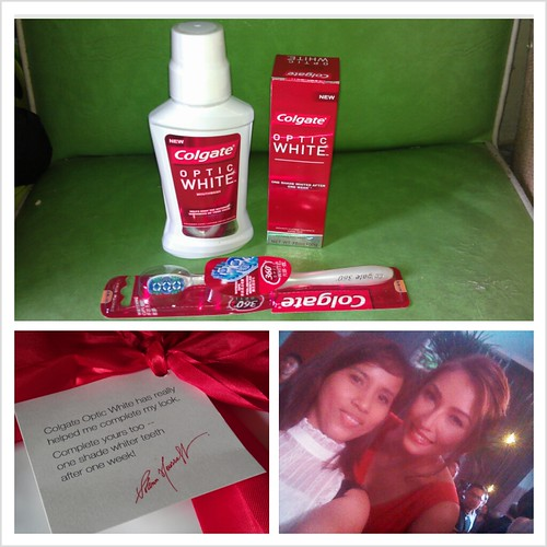 Solenn recommends Colgate Optic White products