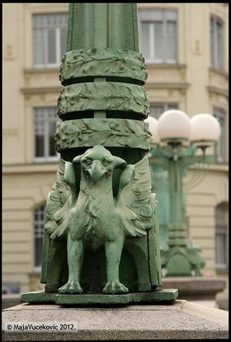 Ljubljana - grifoni