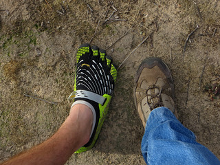 Andrew and I hit the trail (click image for slideshow)