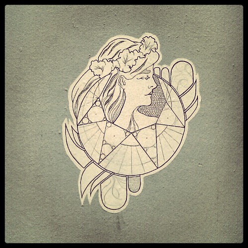 profile #streetart #drawing #poster #brussels #artnouveau
