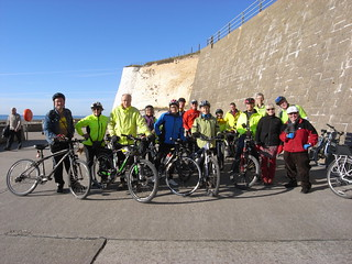 Group shot at Saltdean