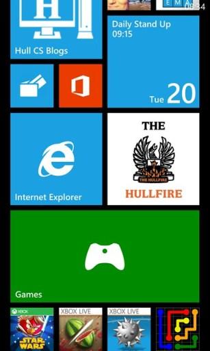 The Hullfire - Windows Phone Live Tiles