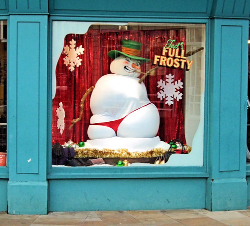 Ted's Full Frosty Snowman In Richmond - London.