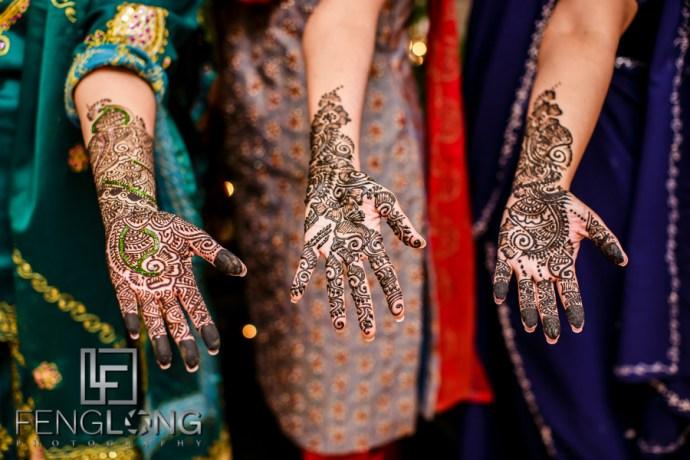 Janella & Chuck's Wedding | Mehndi Night | Atlanta Indian Multicultural Wedding Photographer