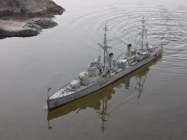 塑膠工廠與模力誌討論區新版 • 檢視主題 - 國府重慶號巡洋艦 -照片重貼
