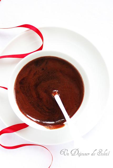 Glaçage au cacao mirroir