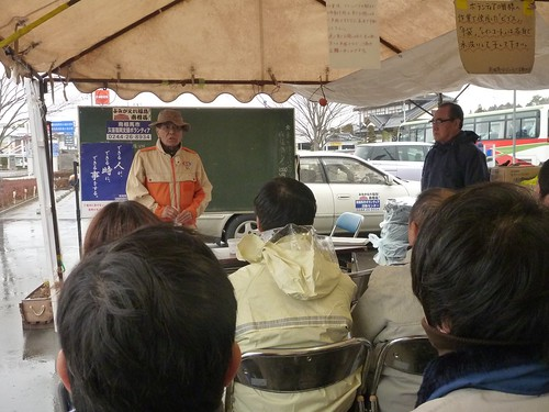 南相馬市小高区でボランティア (2012年12月 援人) Volunteer at Odaka, Minamisoma (Fukushima pref.), Affrected by the Tsunami of Japan Earthquake and Fukushima Daiichi nuclear plant accident