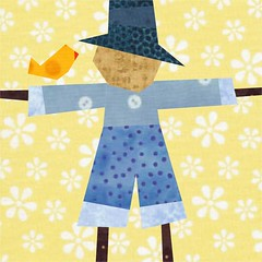 Scarecrow Surprise! In blues