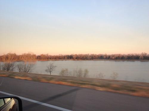 Sunrise near the Platte River