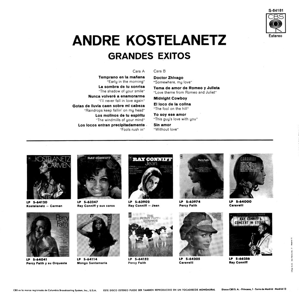 Andre Kostelanetz - Grandes Exitos