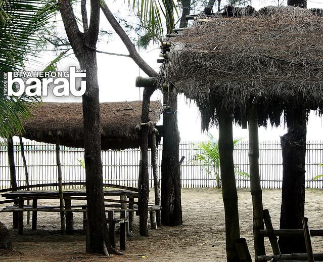 open huts in puerto del mar uacon candelaria zambales