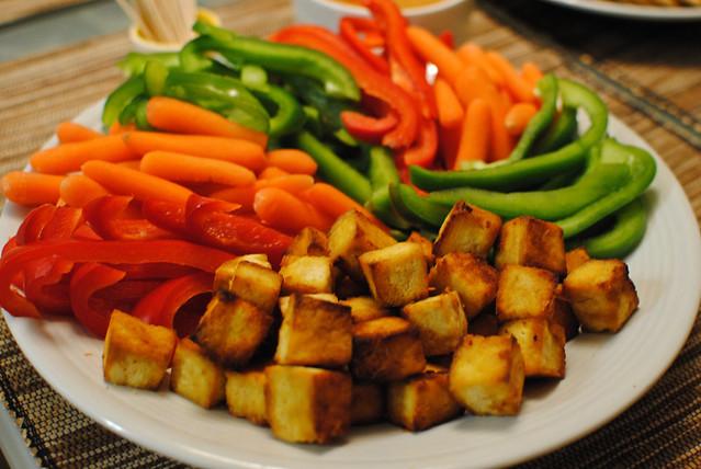 Sesame Ginger Tofu