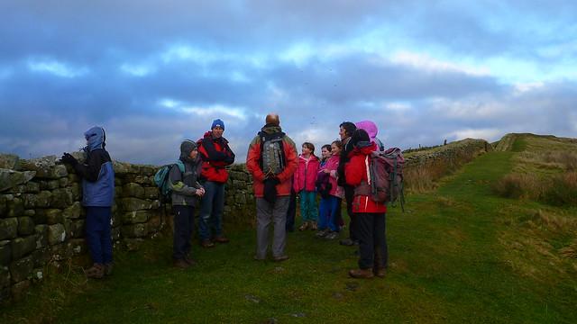 Hadrians Wall, Hotbank Crags