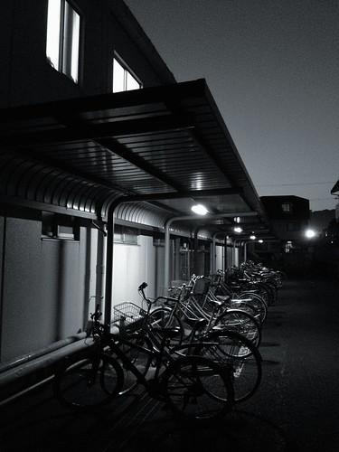 A bike shed