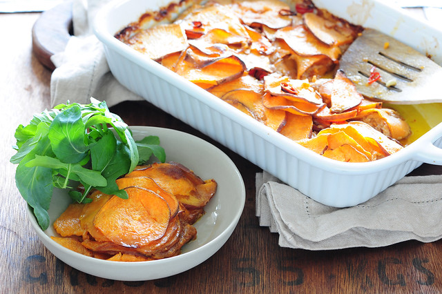 hughs sweet potato gratin-2