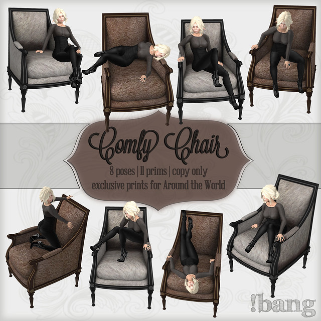 !bang - Comfy Chair {animal prints}