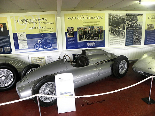 A 1940 Auto Union car in The Donington Collection