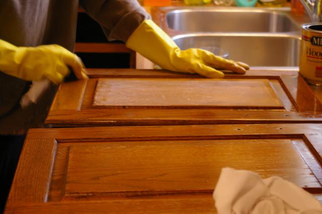 Kitchen Cabinet Refinishing