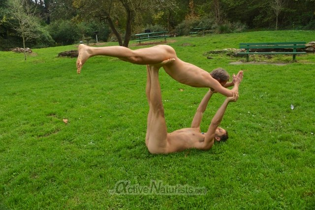 naturist 0000 acro yoga San Francisco CA, USA