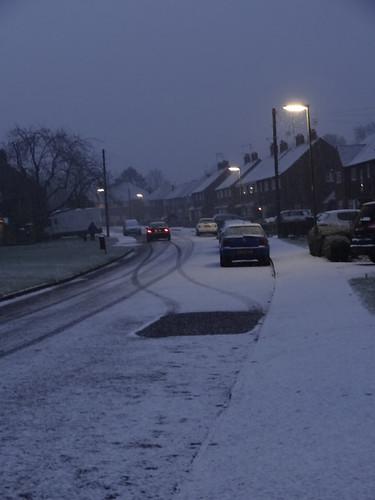 A snowy start