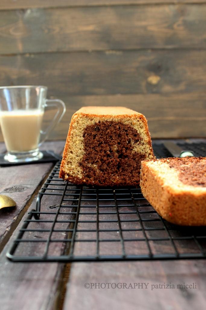 Cake al farro caffé e cacao
