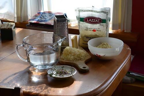 Garbanzo Polenta Ingredients