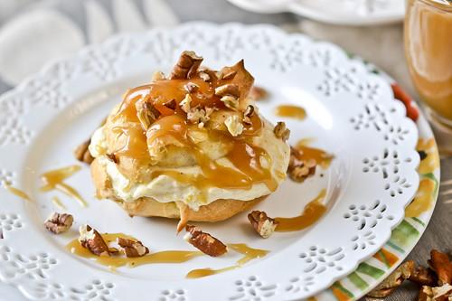 Pumpkin-Filled Cream Puffs 5