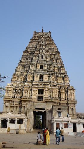 Gopuram at Virupaksha temple