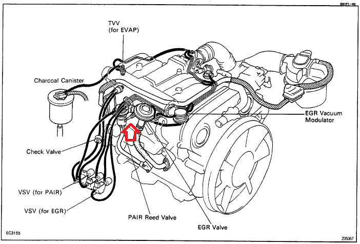 1990 4runner emissions issues. Have specific numbers