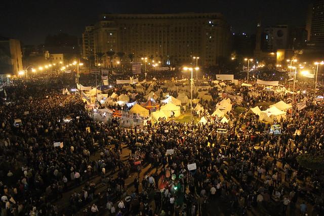 Tahrir 27 Nov 2012 - التحرير ضد مرسي