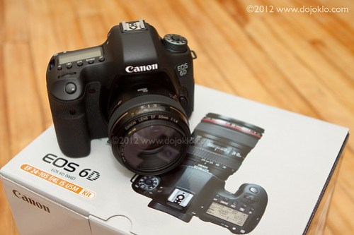Canon 6D EOS unbox unboxing new full frame dslr review preview hands on test how to use manual guide dummies