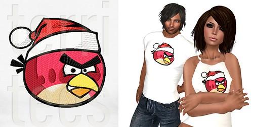 promo angry christmas bird L