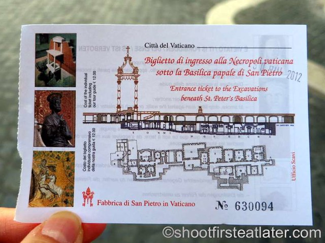 The Vatican Necropolis - Scavi  Tour-004