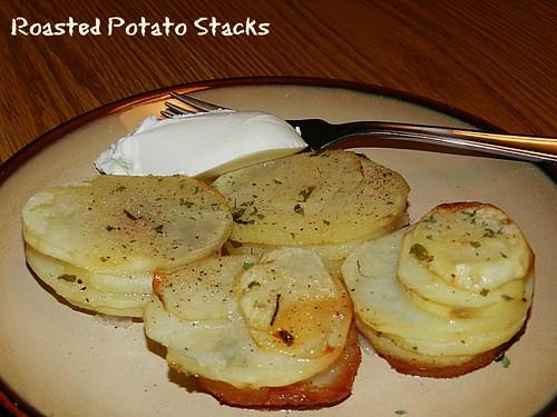 Roasted Potato Stacks