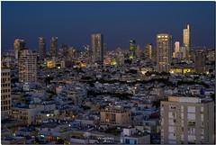 Tel Aviv at the twilight magic hour