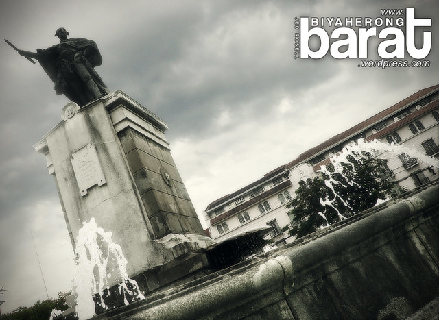 Plaza De Roma Manila Cathedral Intramuros Philippines