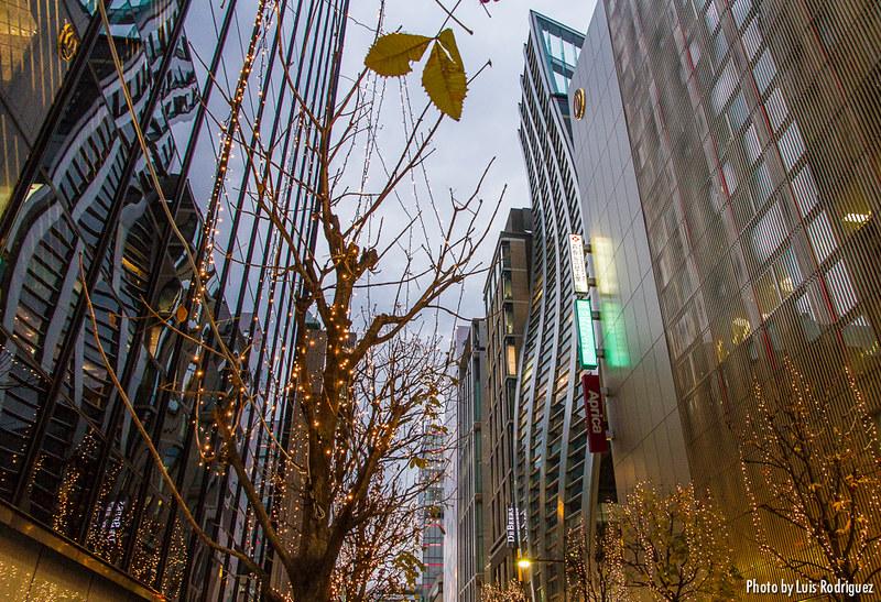Ginza, un barrio de interesante arquitectura en Tokio
