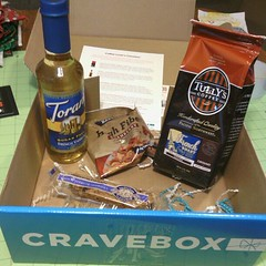 Yay! My 1st box came today! #CoffeeCrave @cravebox
