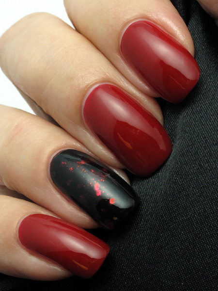 China Glaze Red Satin