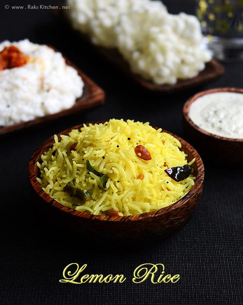 Lemon Rice Recipe Quick Lunch Ideas Raks Kitchen