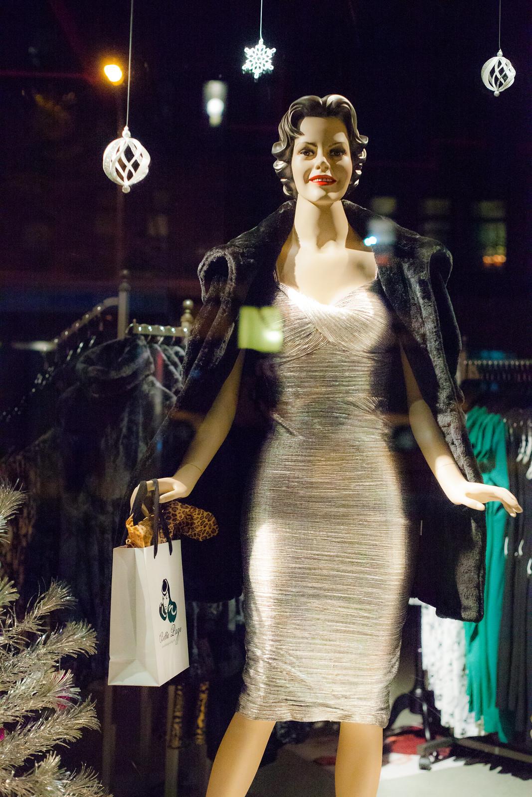 Silver Metallic Dress by wwward0