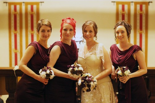 Moody Marriage - The Bride and her Maids
