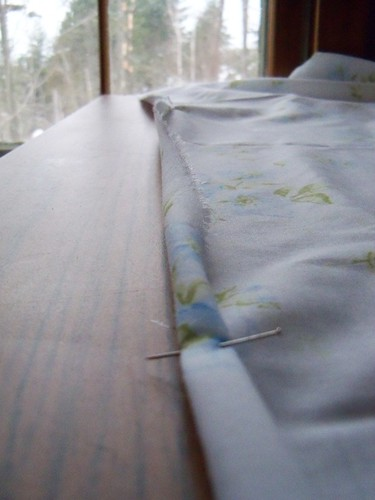 curtains seam
