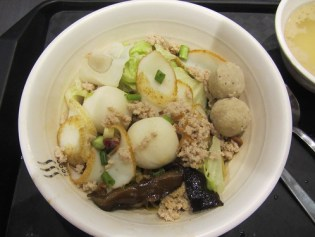 Fish Noodles At Ngee Ann City, SG